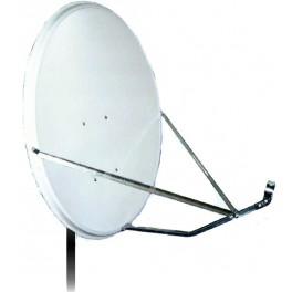 Антенна спутниковая офсетная АУМ CTB-0.8-1.1 0.7 St с кронштейном